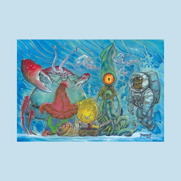 Spongerobert Strangepants and Friends