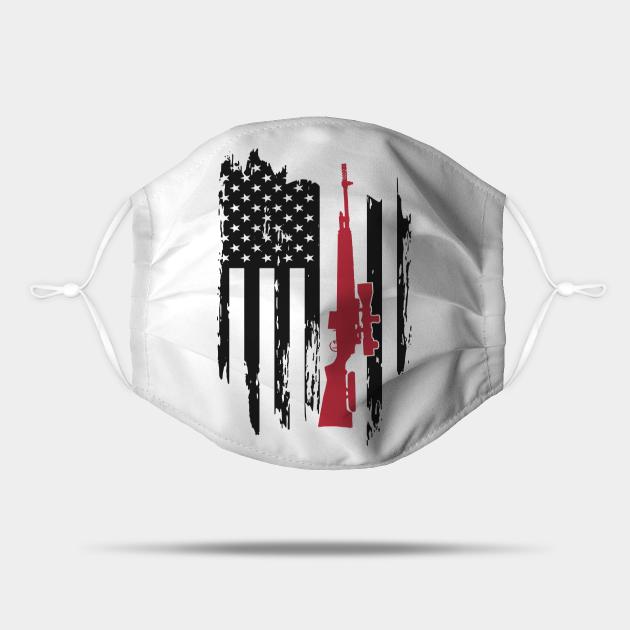 Patriot Rifle Flag