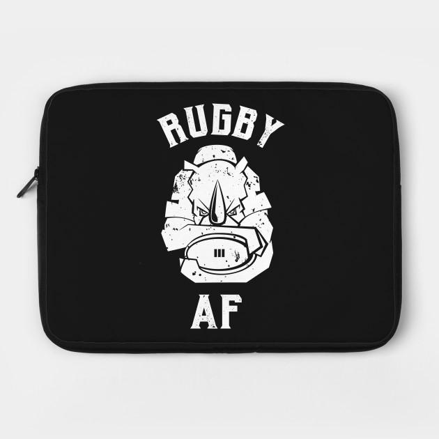 Rugby AF Rhino mascot