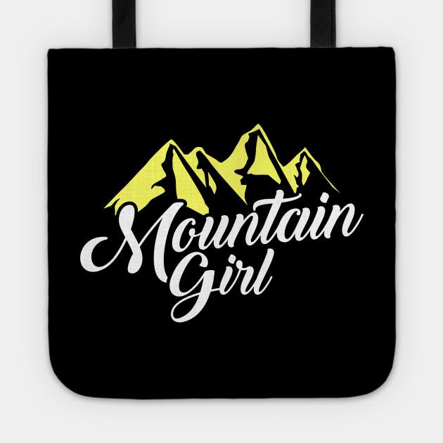 Cute Mountain Girl Hiking Hiker Adventure Nature