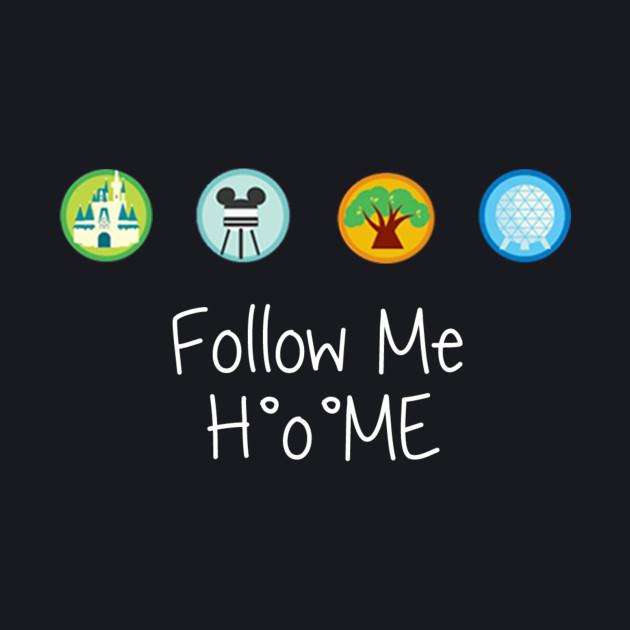 Follow to me Disney!