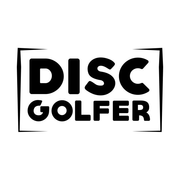 Disc Golfer Dark