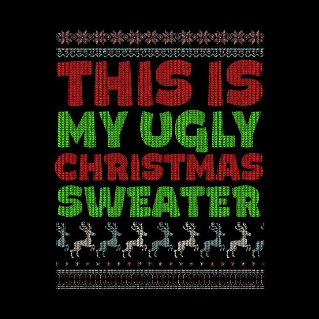 Funny Christmas Ugly Christmas Sweater Holiday Gifts