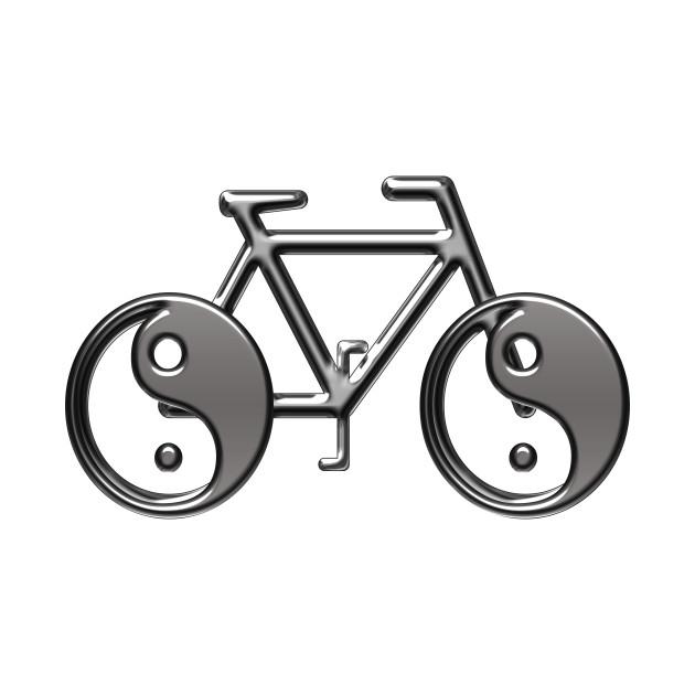 Bike yin yang