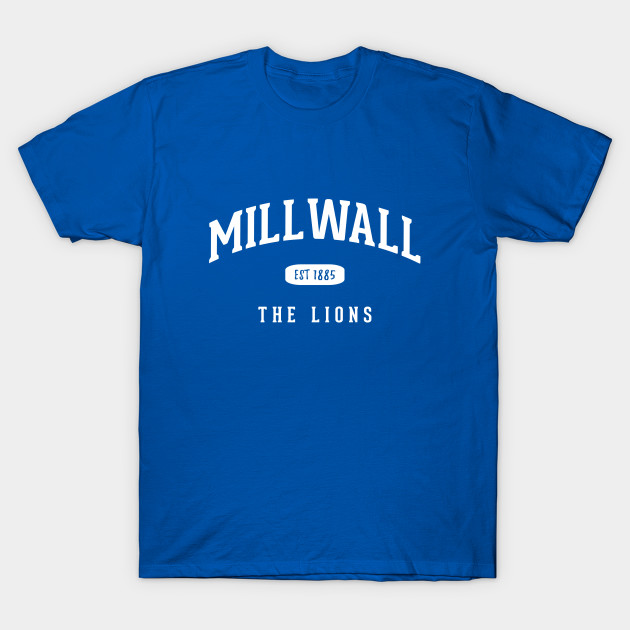 Adult Sizes S to 4XL Millwall Lions Football Polo Shirt
