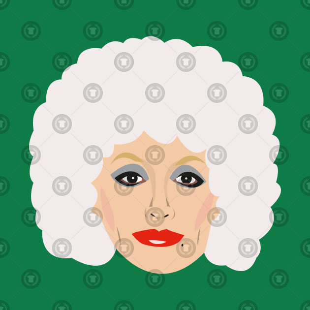 f3e8abf620e Dolly Parton Portrait - Dolly Parton - Kids Long Sleeve T-Shirt ...