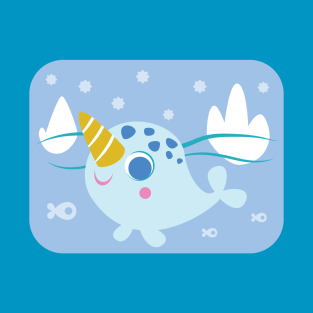 Baby Narwhal t-shirts