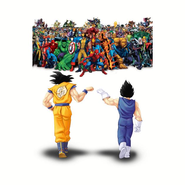 Goku & Vegeta vs Marvel Universe