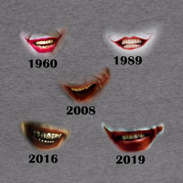 Joker's actors evolution