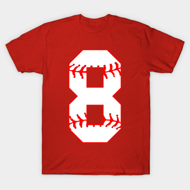Cute Eighth Birthday Party 8th Baseball T Shirt Born