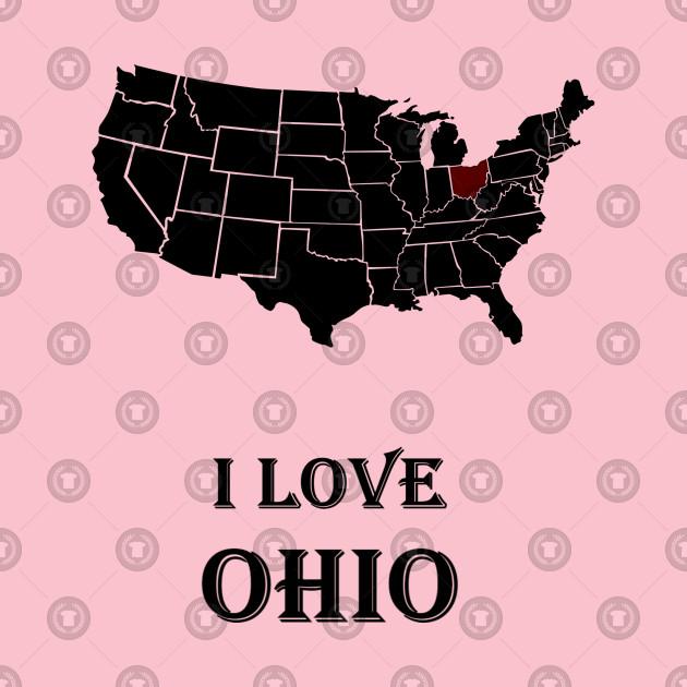 I love Ohio   American History & American Love   Black Power & White Power   White Pride, Black Pride & American patriotism   American states   american sports & american dreams   American patriotic T-shirts, Hoodie, gifts, accessories.