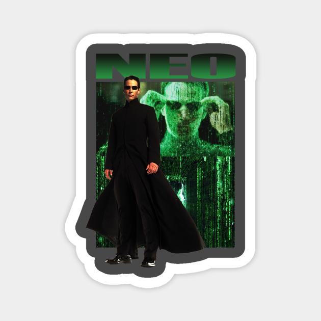 Neo The Matrix Retro Movie
