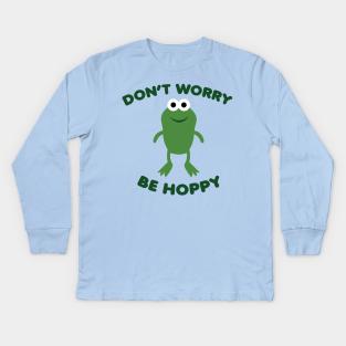 Details about  /Kids/' Premium Long Sleeve T-Shirt Frog
