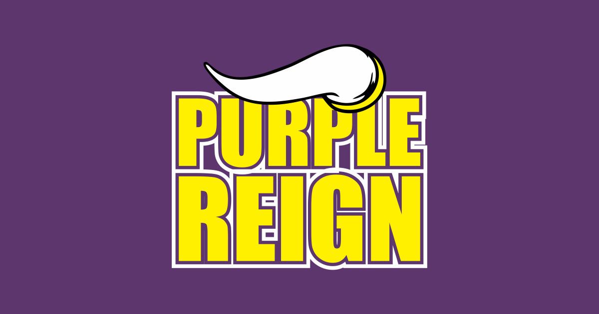 d02254b8668 Minnesota Viking Purple Reign T-Shirt