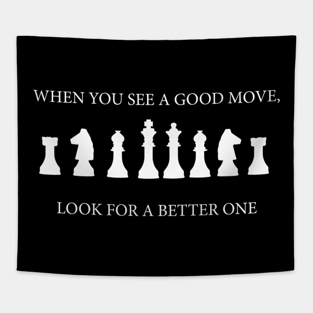 CHESS QUOTE! GIFT IDEA FOR CHESS LOVERS