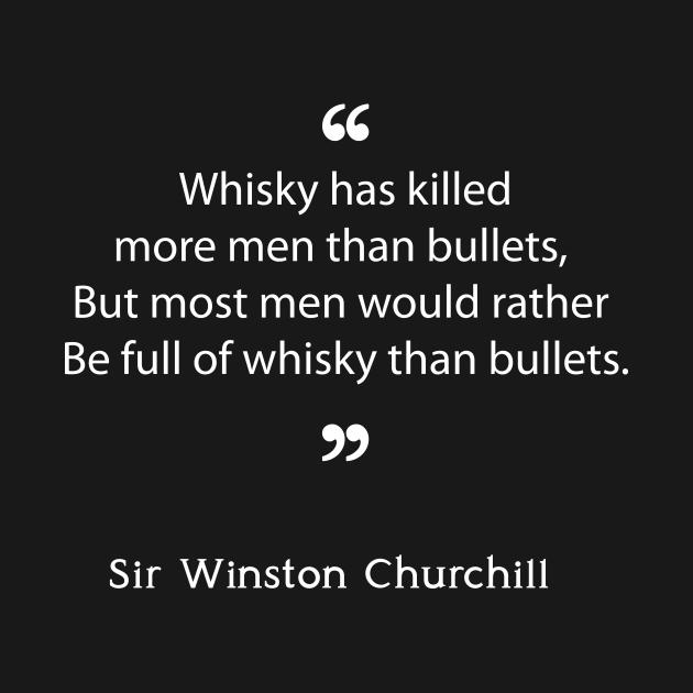 Winston Churchill on Whisky