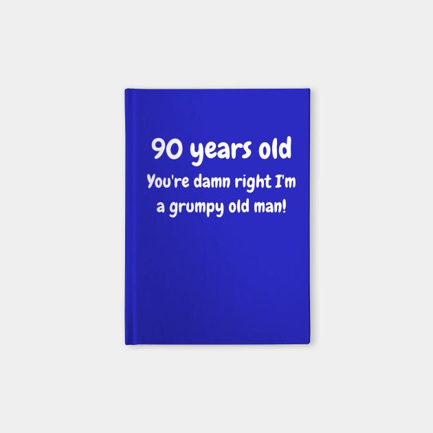 90 year old grumpy old man