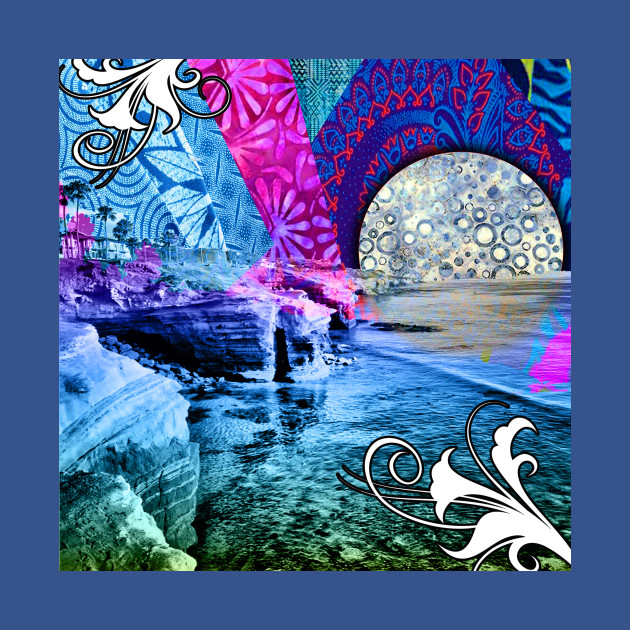 Purple Moon Retro Vibes