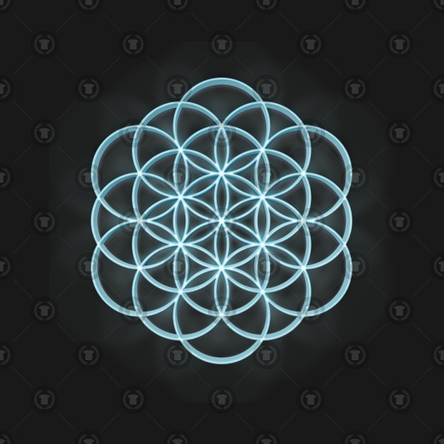 3D Mandala Design #2 / Sacred Geometry Flower of Life Mandala