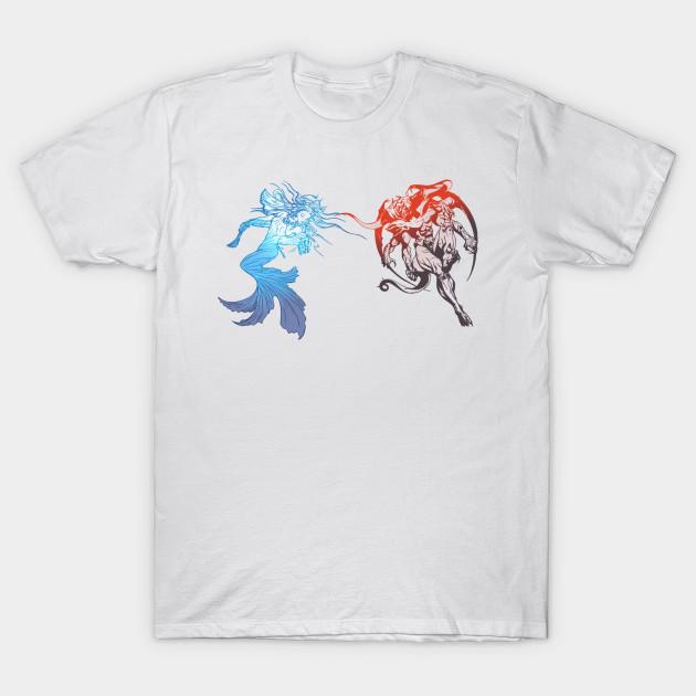 4c2a167acd8db Dissidia Final Fantasy Logo - Final Fantasy Dissidia - T-Shirt ...