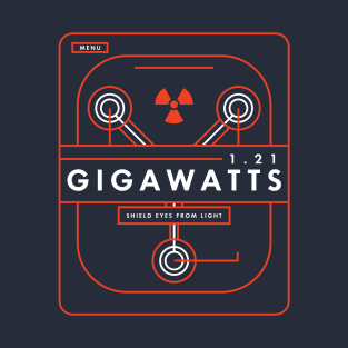 Back to the Future - 1.21 Gigawatts t-shirts