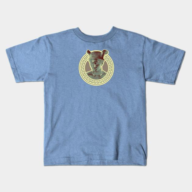 43308c16 Hermes Link T Shirt Source · Hermes III Vintage Variant Messenger Kids T  Shirt TeePublic