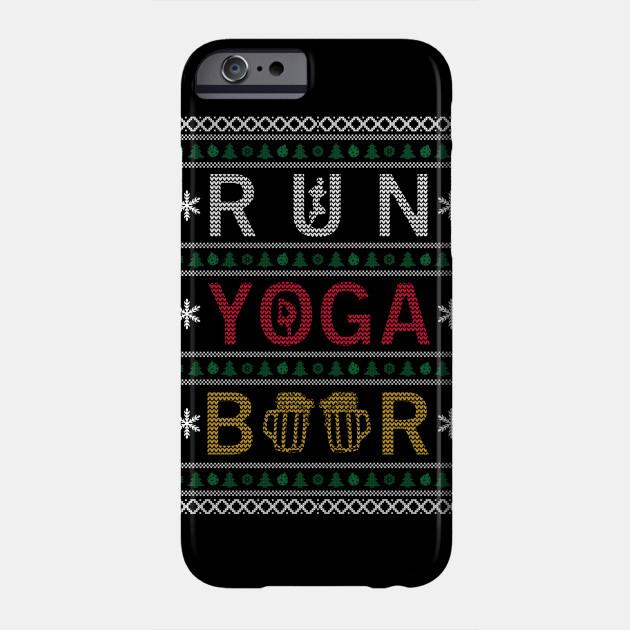 Run Yoga Beer Phone Case