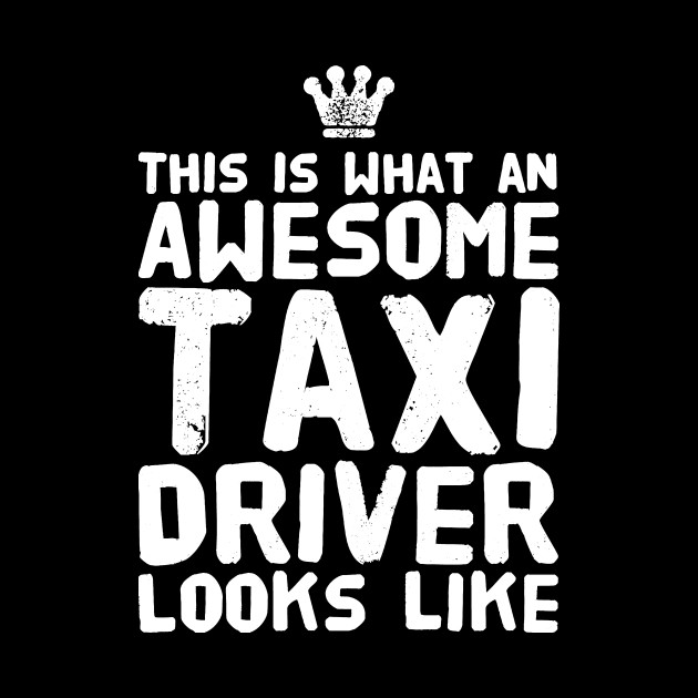 This is what an awesome taxi driver looks like