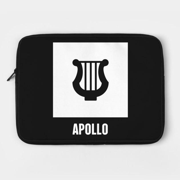 Apollo Greek Mythology God Symbol Greek Mythology Laptop Case