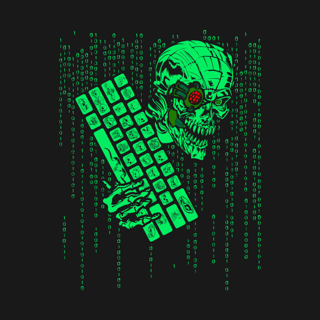 Computer Code Monster Hacker Gamer Coder Hacker T