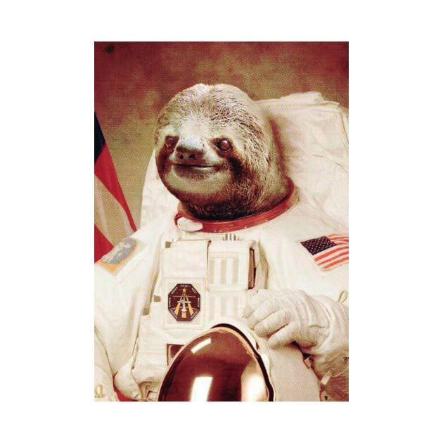 Astronaut Sloth - Astronaut Sloth Meme Memes - Phone Case ...