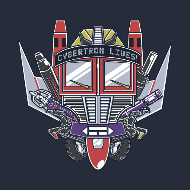 Cybertron Lives T-Shirt
