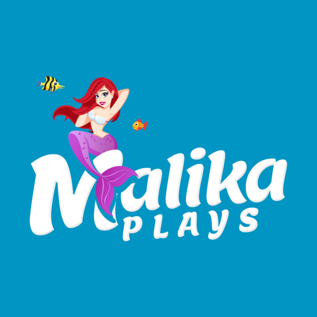MalikaPlays Mermaid Logo