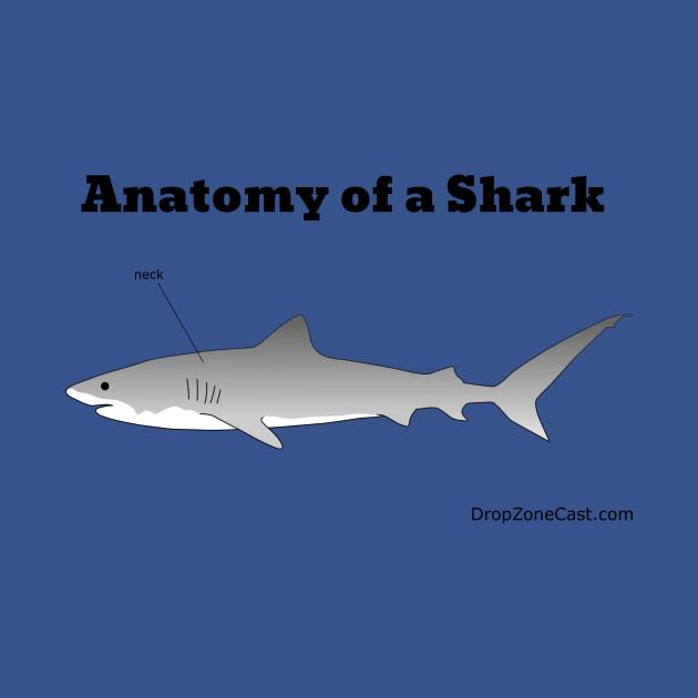 Anatomy of a Shark - Anatomy Of A Shark - Long Sleeve T-Shirt ...