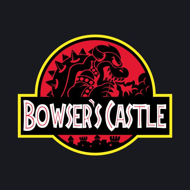 Bowser's Jurassic Castle