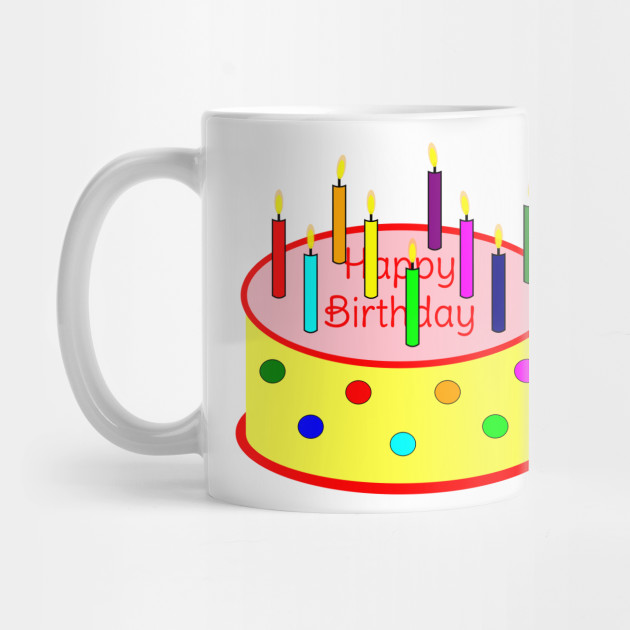 Exclusive Flickering Candle Birthday Cake
