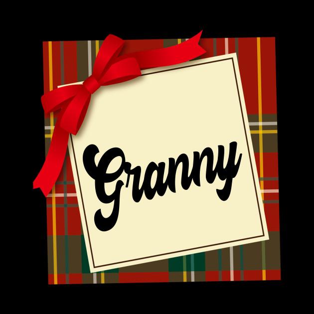 Granny Christmas Gift Family Reunion OOTD Grandma Grandmother