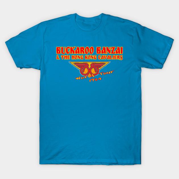 8e0708ae8bf Buckaroo Banzai and the Hong Kong Cavaliers - Buckaroo - T-Shirt ...