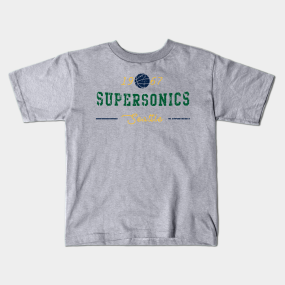 Seattle Supersonics Kids T-Shirts  d4a2b211e