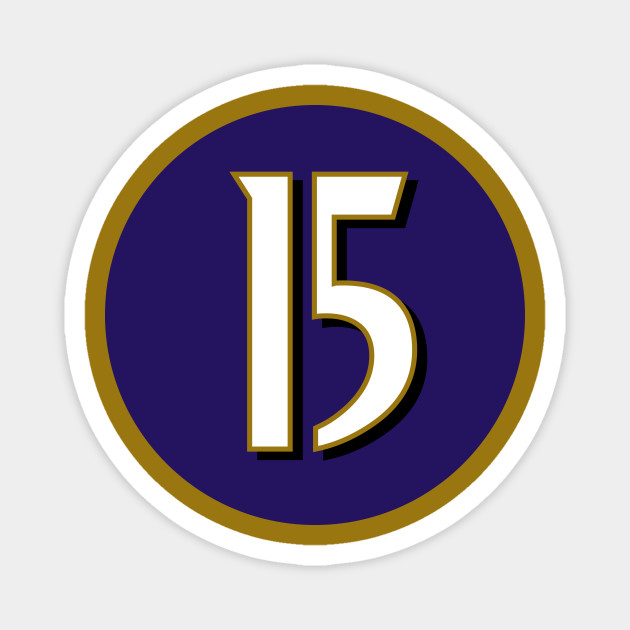 Marquise Brown Baltimore Ravens Number 15 Jersey Inspired