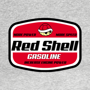 Red Shell gasoline t-shirts