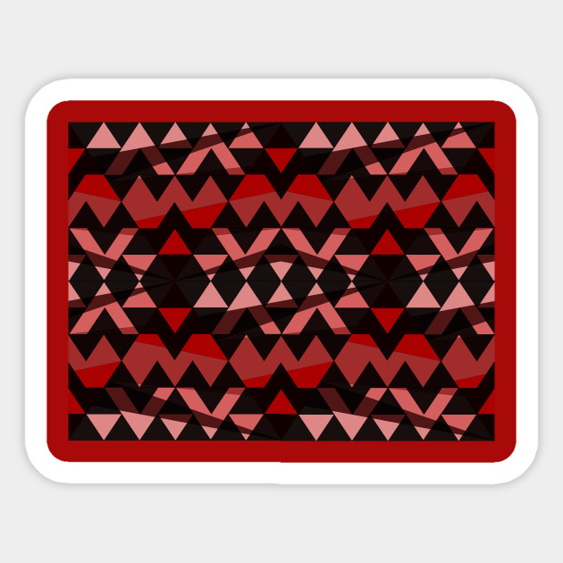 Triangle Symbol Brown And Black Desert Triangle Geometric Pattern