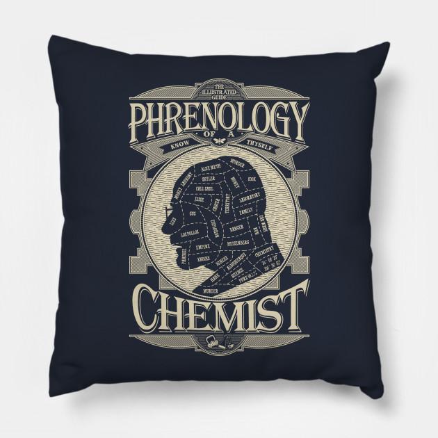 Cuscini Breaking Bad.Phrenology Of A Chemist Breaking Bad Breaking Bad Cuscino