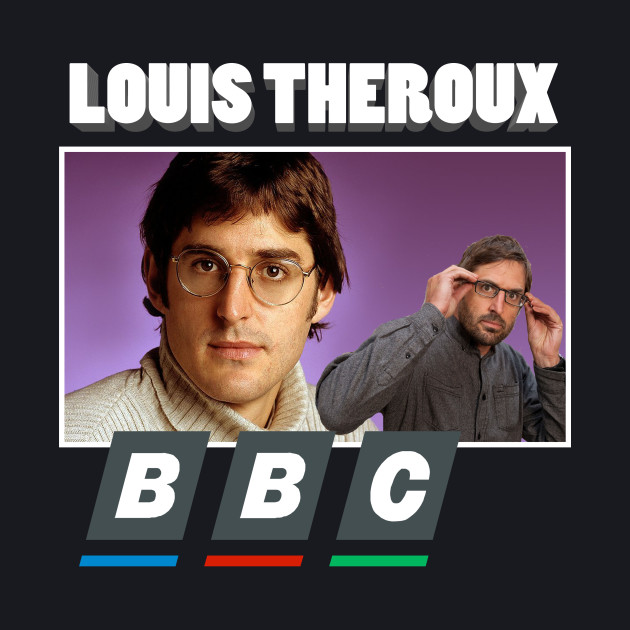 Louis Theroux BBC 90s Print