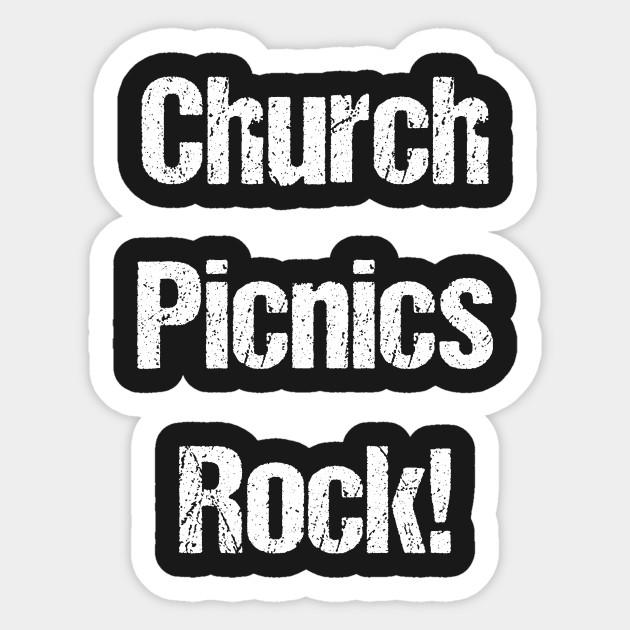 Church Picnics Rock Christian Catholic Party