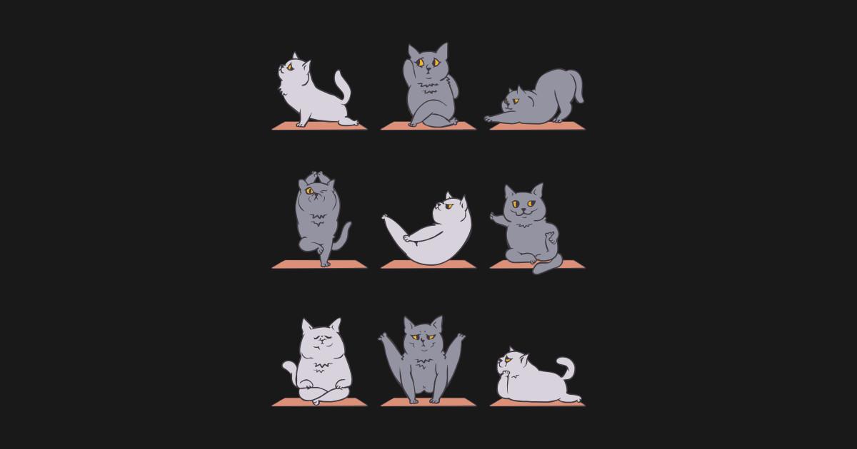 British Shorthair Cat Yoga British Shorthair T Shirt Teepublic