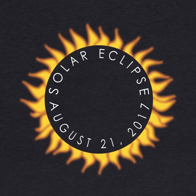 FLAMING SUN Total Eclipse 2017