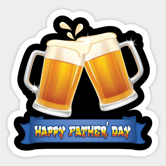 Dad Is My Beer Buddy Happy Fathers Day Happyfathersday Sticker