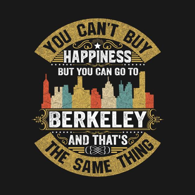 USA City Berkeley City T-Shirt I Love Berkeley Flag California State Home City Berkeley Map Native American USA Flag