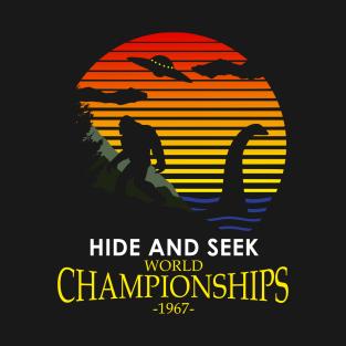 40c0a1bb2efc Hide And Seek World Championships 1967 T-Shirt